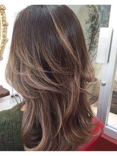 外国人風ハイレイヤーセミロング☆ Hairstyles Haircuts, Straight Hairstyles, Medium Hair Styles, Short Hair Styles, Japanese Haircut, Hair Fair, Hair Arrange, Hair Color And Cut, Long Layered Hair