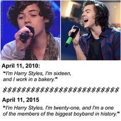Happy ❺ years, Harry. ☻❥