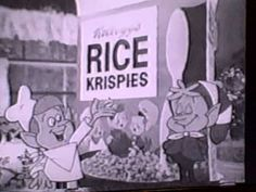 "1978 Kellogg's Rice Krispies TV commercial - ""Thunder"" (B&W)"