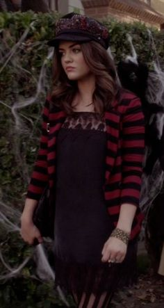 Aria Montgomery's Lace Mini Dress from Pretty Little Liars: This is a Dark Ride #ShopTheShows #curvio