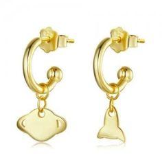 Rocket Design, Wholesale Silver Jewelry, Cartoon Styles, Gold Studs, Plating, Stud Earrings, Sterling Silver, Jewellery, Funny