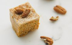 Raw Carrot Cake recipe from Move Nourish Believe. Sounds delish!