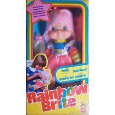 Bambola Baby Iridella - Rainbow Brite