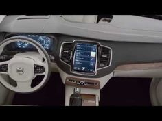 ▶ 2015 Volvo XC90 interior showcased