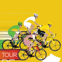 Tour De France - Poster by Andy Scullion