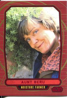 Star Wars Galactic Files Red Parallel #103 Aunt Beru in Collectables, Trading…