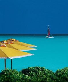 Great Exuma, The Bahamas. Went there for our honeymoon and it was amazing! This picture is of the Four Seasons which is now replaced by The Sandals Resort, which is where we stayed. #dreamvacation