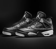 "Air Jordan IV ""Oreo"" (2015) – Photos"