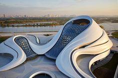 Harbin Opera House by Beijing studio MAD.