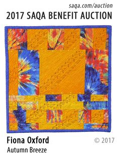 Art quilt by Fiona Oxford