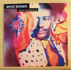 ERROL BROWN Secret Rendevouz Vinyl LP Hot Chocolate This Time it s forever RARE