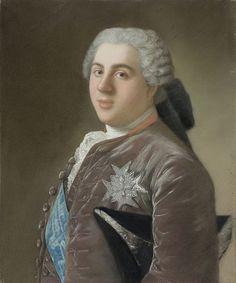 Louis, Dauphin de France (1729-1765), circa 1749 by Jean-Étienne Liotard (Rijksmuseum Amsterdam)
