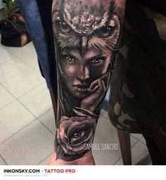 Tattoo by Samuel Sancho