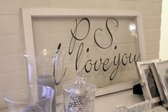 DIY - Ps i love you  http://kotiovella.blogspot.fi