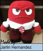 Sabrina's Crochet - Free crochet pattern Anger (Inside Out)
