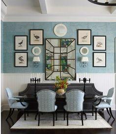 50 фото идей покраски стен в два цвета