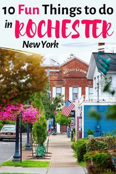 Top 10 Things to do in Rochester NY for the Best Trip Ever Looking for cool & unique things to do in Rochester New York? Here you have the Rochester Travel Guide with the best travel tips. Things to do in Rochester NY I Rochester NY photography I Roch Travel Blog, Usa Travel Guide, Travel Usa, Travel Guides, Travel Tips, Foodie Travel, Budget Travel, Cool Places To Visit, Places To Travel