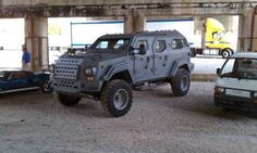 Gurkha F5, Tactical Armored Vehicle : $200,000 for some doomsday security.