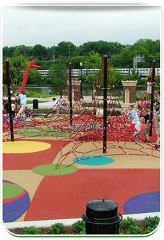 Outdoor Climbing Structure | Quad Mast Net Play Structures in Kids Outdoor Climbing Equipment ...