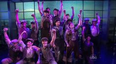 """Disney's NEWSIES Performs on """"The View"""" - Now on Broadway!"""