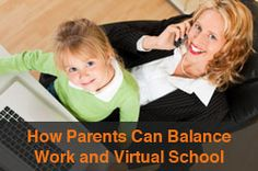 """Virtual School and Working Parents: Ways to Make It Work"" from Connections Academy online school. Pin to Prepare—Create a Pinboard of ""Cool Tools for Online School"" for a Chance to Win! Enter here: http://expi.co/03H8Q #onlinelearning #workingmoms"