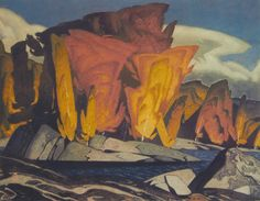Alfred Joseph Casson, OC (May 1898 – February was a member of the Canadian group of artists known as the Group of Seven. Tom Thomson, Emily Carr, Canadian Painters, Canadian Artists, Abstract Landscape, Landscape Paintings, Acrylic Paintings, Group Of Seven Artists, Jackson