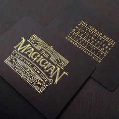 'The Magician' branding I designed for @theory11 and @danwhitemagic. A dark and mind-bending magic show at the NoMad hotel in NY. Watch @danwhitemagic tomorrow night on the @jimmyfallon show. Printing by @studioonfire