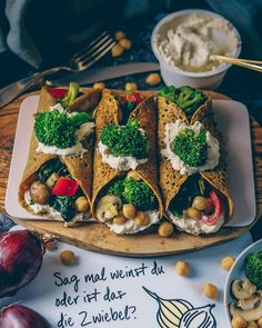 Savoury crepes filled with vegan sour cream and steamed curry veggies + chickpeas 🤤 served on the cute serving boards by @odernichtoderdoch.de Laura 🇩🇪 Düsseldorf 🥑 Vegan (@laurafruitfairy) • Instagram photos and videos