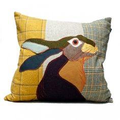 Hare Cushion from http://www.phoenixandfox.co.uk