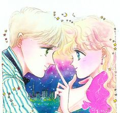 "Artwork from ""Chocolate Christmas"" series by manga artist & ""Sailor Moon"" creator Naoko Takeuchi."