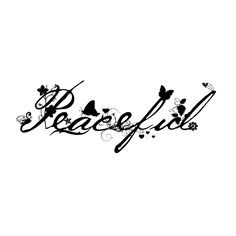 Peaceful - See the different designs you can buy with this design at www.cafepress.com/sammysmomscustondesign