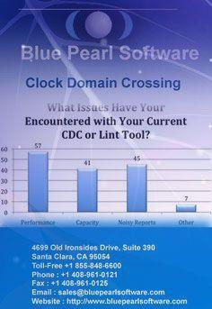 Blue Pearl Software - Clock Domain Crossing