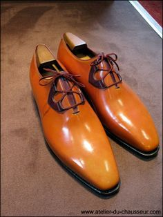 Corthay Ghillie Style Shoes