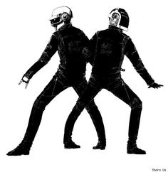 Daft Punk http://www.youtube.com/user/daftpunkalive