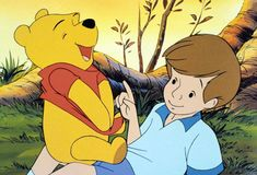 """""""Wherever they go, and whatever happens to them on the way, in that enchanted place on the top of the forest, a little boy and his Bear will always be playing."""""""