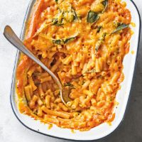 Butternut mac & cheese with sage