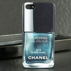 Chanel Nail Polish iPhone Case Chanel Nail Polish, Chanel Nails, Iphone 6, Iphone Cases, Mobile Cases, Nail Colors, Perfume Bottles, Pearls, Character