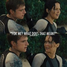 It means they love you hun xD.#catchingfire #mockingjay
