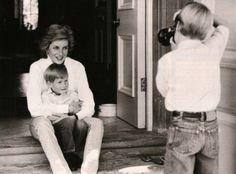 Diana, William, and Harry #mom