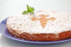 Апельсиновый пирог с оливковым маслом и амаретто