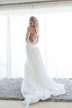 Beach Bohemian Wedding by Anina Harmse | SouthBound Bride Monique Dealy Dress