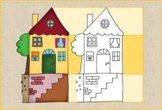 Zeilenhaus für die Einführung der Zeilen - Frau Locke