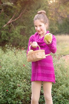 Girl's Cowl Neck Top Pattern