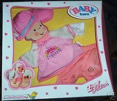 Baby Born Zapf Creation Sporty Set 3-teilig NEU OVP in Spielzeug, Puppen & Zubehör, Babypuppen & Zubehör   eBay!