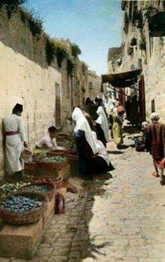 من بيت لحم - فلسطين 1914م  From Bethlehem-Palestine 1914