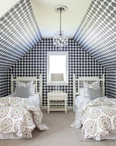 Kids Bedroom by Lisa Sherry Interieurs Modern Kids Bedroom, Serene Bedroom, Beautiful Bedrooms, Bedroom Kids, Home Design Decor, Home Interior Design, House Design, House And Home Magazine, Contemporary Furniture