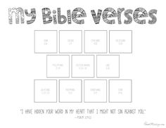 11 Bible verses to teach kids (with printables to color) | House Mix