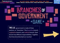 Get links to great government games and activities on this post! Everything you need to suppliment your government unit is here!