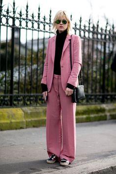 The Most Inspiring Street Style From Paris Fashion Week via @WhoWhatWearAU