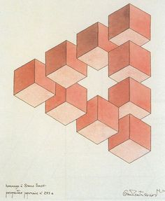 Impossible Triangle by Oscar Reutersvard